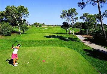 Green Beautiful Courses from Marriot Son Antem Golf. Picture from www.marriothotels.com