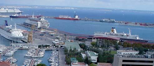 Puerto de palma ferries hotel cerca del puerto de palma - Transportes palma de mallorca ...